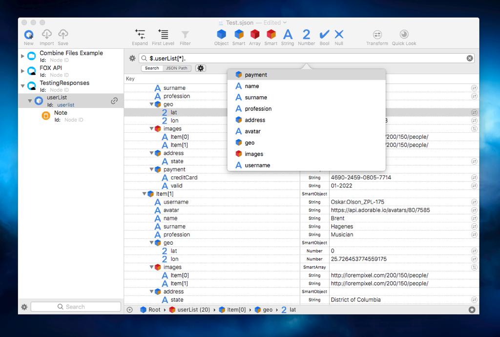 Smart JSON Editor